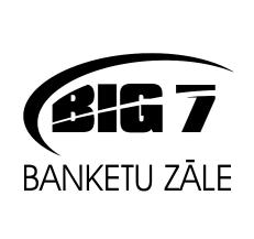 BIG7 Banketu zale - white black